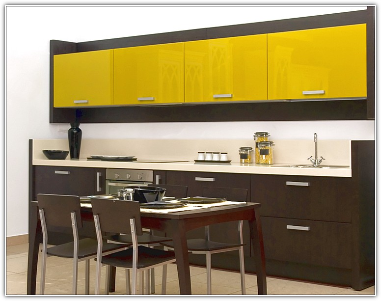 Back painted glass kitchen cabinet doors dyhome for Back painted glass panels