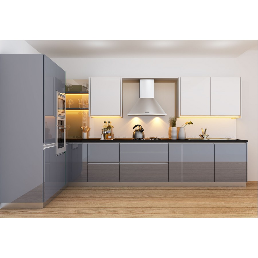 L shape kitchen dyhome for L shaped modular homes